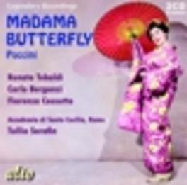 MADAMA BUTTERFLY SANTA CECILIA ORCHESTRA/TULLIO SERAFIN G. PUCCINI, CD