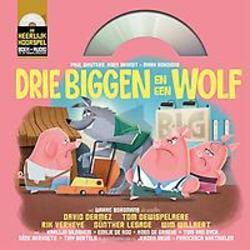 3 biggen en een wolf (Boek...