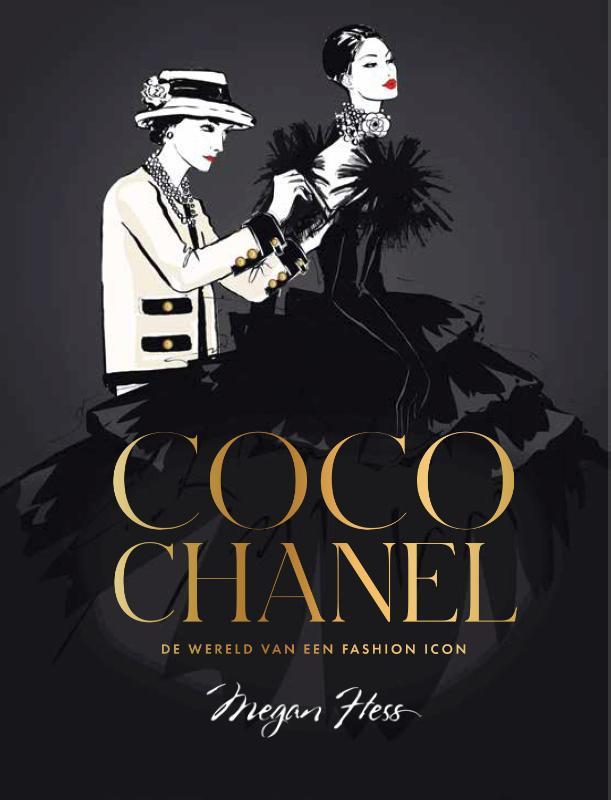 Coco Chanel (luxe editie). De wereld van een fashion icon, Megan Hess, Hardcover