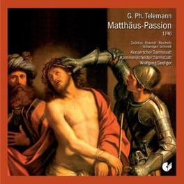 ST.MATTHEW PASSION (1746) SEELIGER Audio CD, G.P. TELEMANN, CD