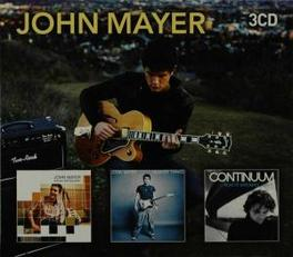 ROOM FOR../HEAVIER../CON. ..SQUARES/..THINGS/..CONTINUUM // SLIPCASE Audio CD, JOHN MAYER, CD