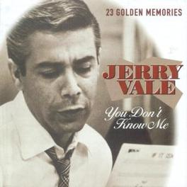 YOU DON'T KNOW ME Audio CD, JERRY VALE, CD