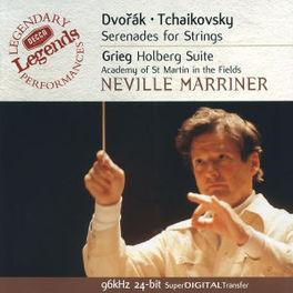 SERENADE STRINGS/HOLBERG ACADEMY ST.MARTIN-IN-THE FIELDS/NEVILLE MARRINER Audio CD, DVORAK/TCHAIKOVSKY, CD