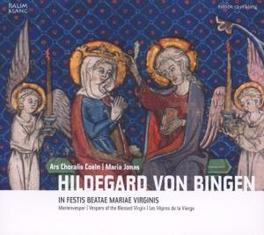 IN FESTIS BEATAE MARIAE V ARS CHORALIS COELN/JONAS Audio CD, H. VON BINGEN, CD