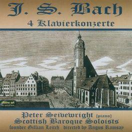 BACH, J.S.: 4.. .. KLAVIERKONZERTE PETER SEIVEWRIGHT, CD