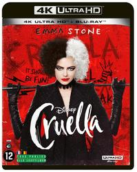 Cruella, (Blu-Ray 4K Ultra HD)