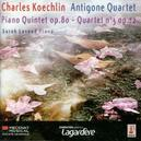 QUINTET WITH PIANO.. .. OP.80/STRING QUARTET//KOECHLIN CHARLES