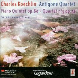 QUINTET WITH PIANO.. .. OP.80/STRING QUARTET//KOECHLIN CHARLES Audio CD, ANTIGONE QUARTET, CD
