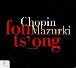 MAZURKAS FOU TS'ONG Audio CD, F. CHOPIN, CD