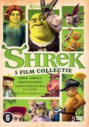 Shrek 1 - 4 + De Gelaarsde...