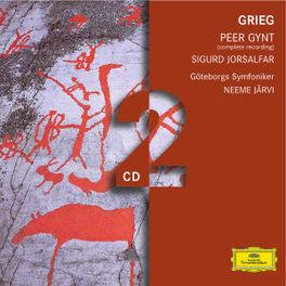 PEER GYNT/SIGURD JORSALFA GOTEBORGS SYMFONIKER/NEEME JARVI Audio CD, E. GRIEG, CD
