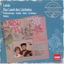 DAS LAND DES LACHELNS ANNELIESE ROTHENBERGER F. LEHAR, CD