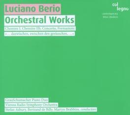 ORCHESTERWERKE GRAUSCHUMACHER PIANO DUO/BERTAND DE BILLY/ASBURY Audio CD, L. BERIO, CD