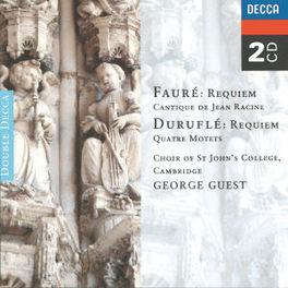 REQUIEM ST.JOHN'S COLLEGE CHOIR/GUEST Audio CD, FAURE/DURUFLE, CD