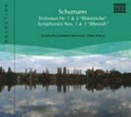 SYMPHONIES NO.1 & 3 SCHLESISCHES P.O. R. SCHUMANN, CD