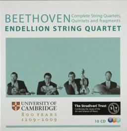COMPLETE STRING QUARTETS ENDELLION QUARTET Audio CD, L. VAN BEETHOVEN, CD