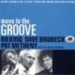 MOVE TO THE GROOVE WBB KING / DAVE BRUBECK / PAT METHENY Audio CD, V/A, CD