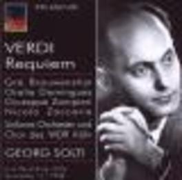 REQUIEM S.O.DES WDR KOLN/GEORG SOLTI Audio CD, G. VERDI, CD