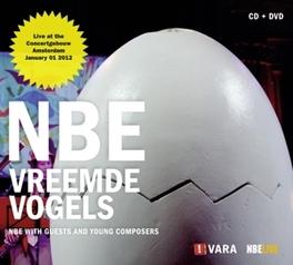 VREEMDE VOGELS -CD+DVD- W/IVA BITTOVA/LUC ARBOGAST NEDERLANDS BLAZERS ENSEMBLE, CD