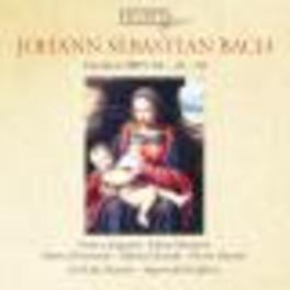 CANTATAS BWV 82. 49 & 58 ARGENTA/MERTENS/LA PETITE BANDE/KUIJKEN, S. Audio CD, JOHANN SEBASTIAN BACH, CD