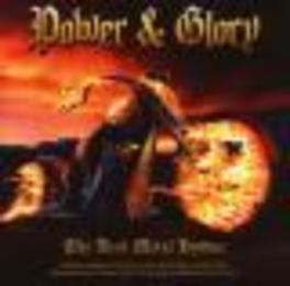 POWER & GLORY POWER METAL COMPILATION Audio CD, V/A, CD