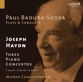 3 KLAVIERKONZERTE/NR.1 F- BADURA-SKODA, PAUL Audio CD, J. HAYDN, CD
