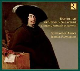 CANZONI FABTASIE & CORREN SYNTAGMA AMICI/JEREMIE PAPASERGIO Audio CD, SALAVERDE, CD