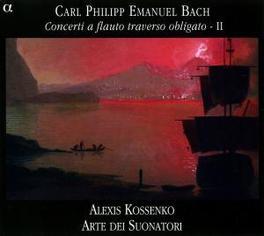 CONCERTI A FLAUTO TRAVERS ARTE DEI SUONATORI Audio CD, C.P.E. BACH, CD