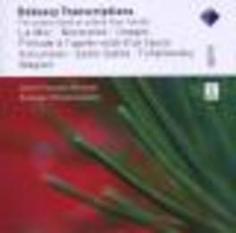 TRANSCRIPTIONS J.F. HEISSER, G.PLUDERMACHER Audio CD, C. DEBUSSY, CD