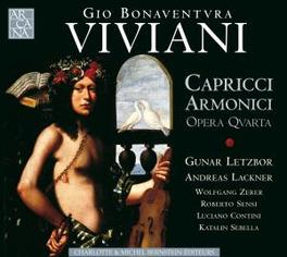 CAPRICCI ARMONICI, OPERA ..QUARTA W/G.LETZBOR/A.LACKNER/W.ZERER/R.SENSI/K.SEBELL Audio CD, G.B. VIVANI, CD