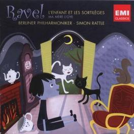 L'ENFANT ET LES SORTILEGE BERLINER PHILHARMONIKER/SIMON RATTLE Audio CD, M. RAVEL, CD