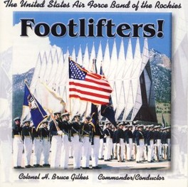 FOOTLIFTERS! UNITED STATE AIR FORCE BA, CD