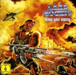KNOW YOUR ENEMY RERELEASE WITH EXCLUSIVE  BONUS DVD 'LIVE IN EINDHOVEN' Audio CD, LAAZ ROCKIT, CD