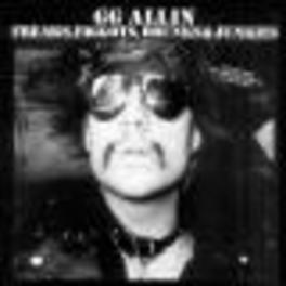 FREAKS, FAGGOTS & JUNKIES G.G. ALLIN, Vinyl LP
