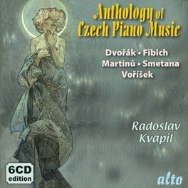 CZECH PIANO ANTHOLOGY 2 RADOSLAV KVAPIL, CD