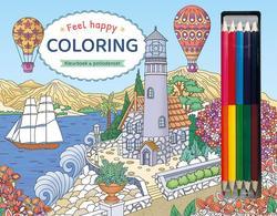 Feel Happy Coloring -...