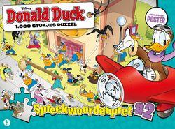 Donald Duck - Spreekwoordenstrijd (1000 Stukjes)