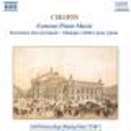 FAMOUS PIANO MUSIC ETUDES, PRELUDES VARIOUS ARTISTS F. CHOPIN, CD
