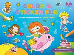 Color & Sticker Fun –...