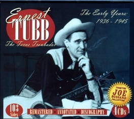 EARLY YEARS 1936-45 Audio CD, ERNEST TUBB, CD