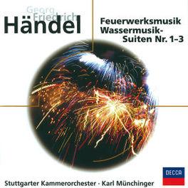FEUERWERKMUSIK WASSERMUSIK SUITES NR. 1,2,3 - STUTTGARTER KAMMERORCHES Audio CD, G.F. HANDEL, CD