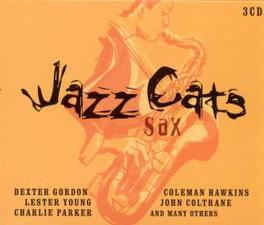 JAZZ CATS SAX WCOLEMAN HAWKINS/ARCHIE SHEPP/BEN WEBSTER/JAMES MOODY Audio CD, V/A, CD