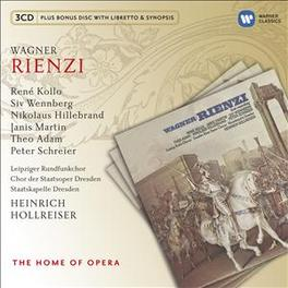 RIENZI HEINRICH HOLLREISER/KOLLO/WENNBERG R. WAGNER, CD