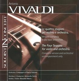 FOUR SEASONS A. VIVALDI, CD