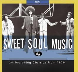 SWEET SOUL MUSIC 1970 24 SCORCHING CLASSICS//INCL.76PG. BOOKLET Audio CD, V/A, CD