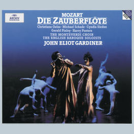 DIE ZAUBERFLOTE W/OELZE, SCHADE, MONTEVERDI CHOIR, ENGLISH BAROQUE SOLO Audio CD, W.A. MOZART, CD