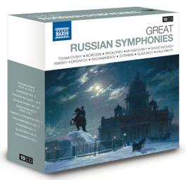 GREAT RUSSIAN SYMPHONIES TCHAIKOVSKY/BORODIN/PROKOFIEV/MYASKOVSKY/SHOSTAKOVICH.. V/A, CD
