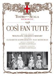 COSI FAN TUTTE CANTELLI/SCHWARZKOPF//*2CD + BOOK* W.A. MOZART, CD