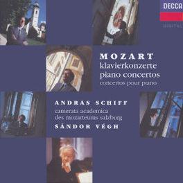 PIANO CONCERTOS *BOX* W/SCHIFF, CAMERATA ACADEMICA, SANDOR VEGH Audio CD, W.A. MOZART, CD