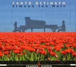 CANTO OSTINATO (NEW.. SANDRA & JEROEN VAN VEEN Audio CD, S. TEN HOLT, Audio Visuele Media